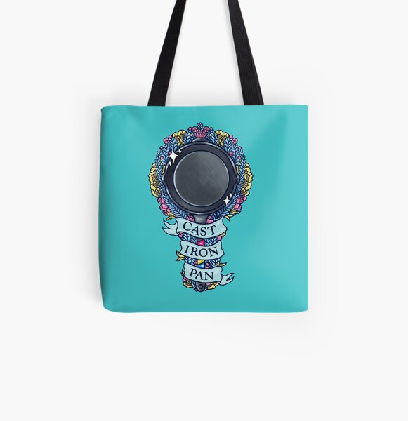 CAST IRON PAN All Over Print Tote Bag