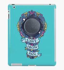 CAST IRON PAN iPad Case/Skin