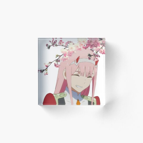 Sakura Zero Two Acrylic Block
