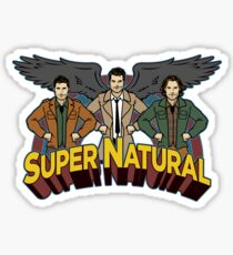 Super Natural Friends Sticker