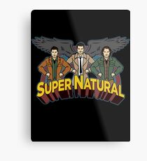 Super Natural Friends Metal Print