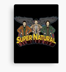 Super Natural Friends Canvas Print