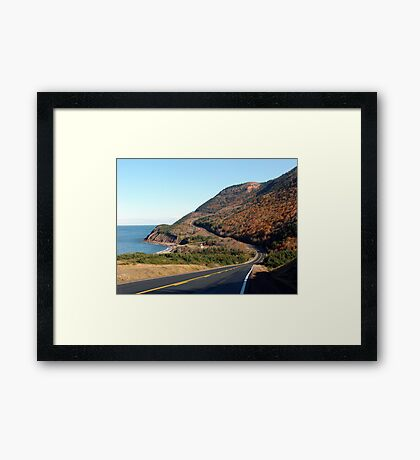 Over Hill and Dale Framed Print