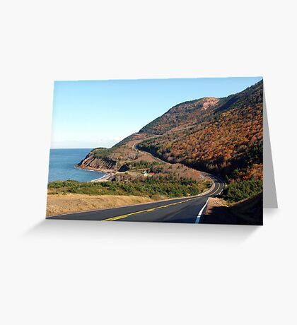 Over Hill and Dale Greeting Card