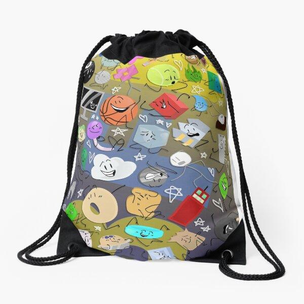Battle for BFDI Drawstring Bag