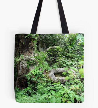 Old Oak and Vines Tote Bag