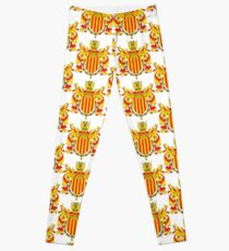 Coat of arms of Catalonia, Escudo de armas de cataluña, Coat of arms, arms, crest, blazon, cognizance, childrensfun, purim, costume Leggings