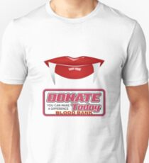 Vampire blood bank Unisex T-Shirt
