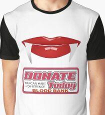 Vampire blood bank Graphic T-Shirt