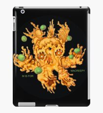 M is for MACREEPY MAC AND CHEESE! iPad Case/Skin