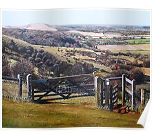 The South Downs Way Poster