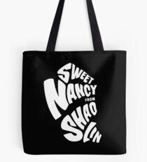 Sweet Nancy - White Tote Bag