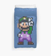 Pixel Luigi Duvet Cover