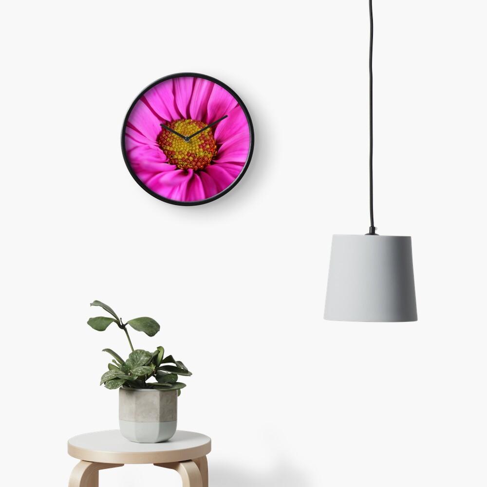 Schön in pink Uhr