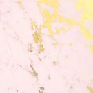 Blush gold marble by Gale Switzer