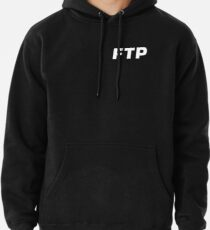 ALL OVER FUCK THE POPULATION FTP (ALL ENABLED) Pullover Hoodie