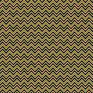 Chevrons - Yellow and Black by Sarinilli