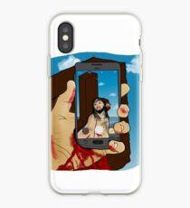 Selfie Stick iPhone Case
