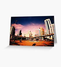 Bangkok City Greeting Card