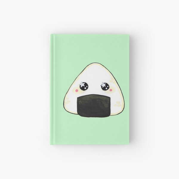Onigiri Sticker Hardcover Journal