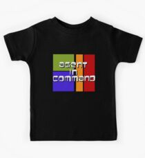I am Agent in Command  Kids Tee