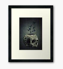 Skull Bats Framed Print