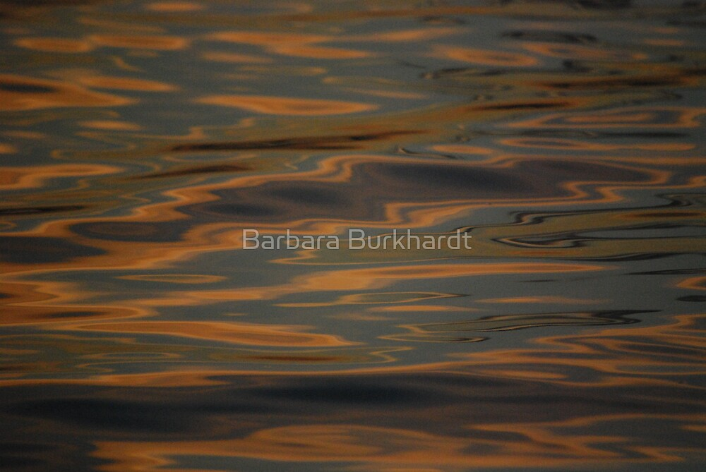 Warm Reflections by Barbara Burkhardt