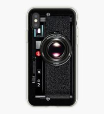 LEICA M9 Schwarz iPhone-Hülle & Cover