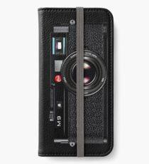 LEICA M9 Black iPhone Wallet/Case/Skin