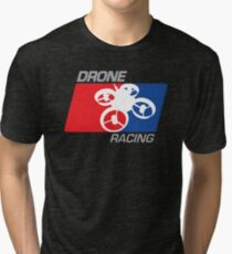DRONE RACING Tri-blend T-Shirt