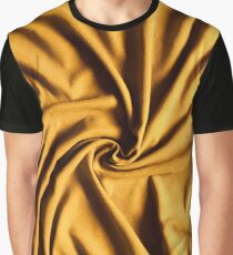 Drapery fabric gold whirlpool Graphic T-Shirt