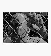David C - Trapped - Soft B&W Photographic Print