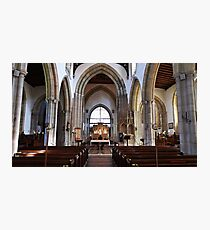 The Church of England end of the Church. Photographic Print