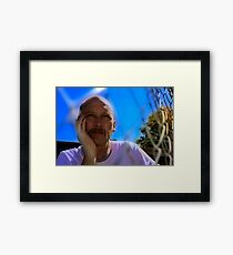 David C - Trapped In Thought- Deep Colour Framed Print