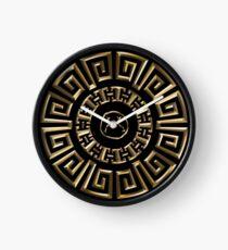 Sad Versace Gold Edition  Clock