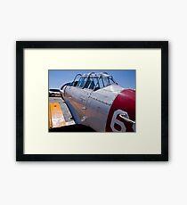 North American Rokwell Harvard AT-6C (SAAF 69) (ZU-FNE) Framed Print