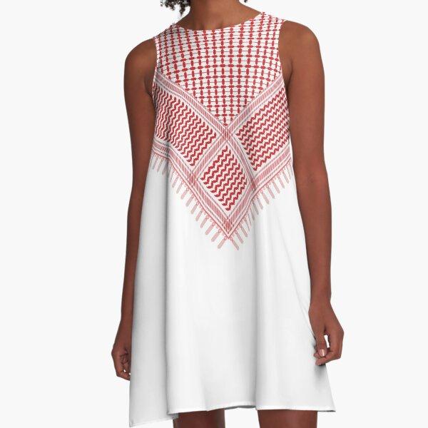 Shemagh & Gutra A-Line Dress