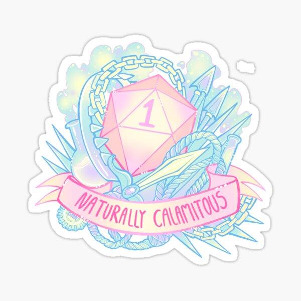 Critical Miss D&D design Sticker