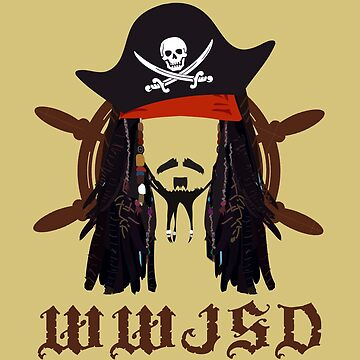 WWJSD Pirate Movie Fans Caribbean Artist Design by overstyle