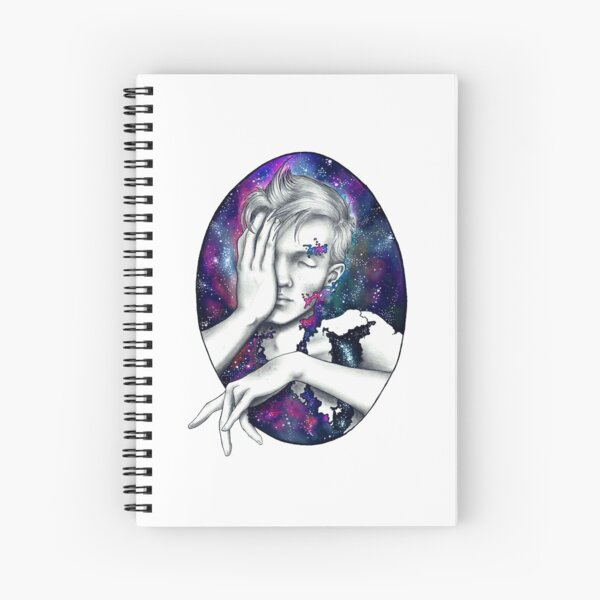 Emotions Series - Apathy  Spiral Notebook