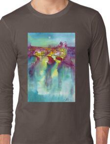 PONTE VECCHIO, Florence Long Sleeve T-Shirt