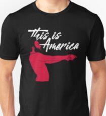 Das ist Amerika! Slim Fit T-Shirt