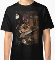 Camiseta clásica Monstruos comiendo un caballero por Hieronymus Bosch
