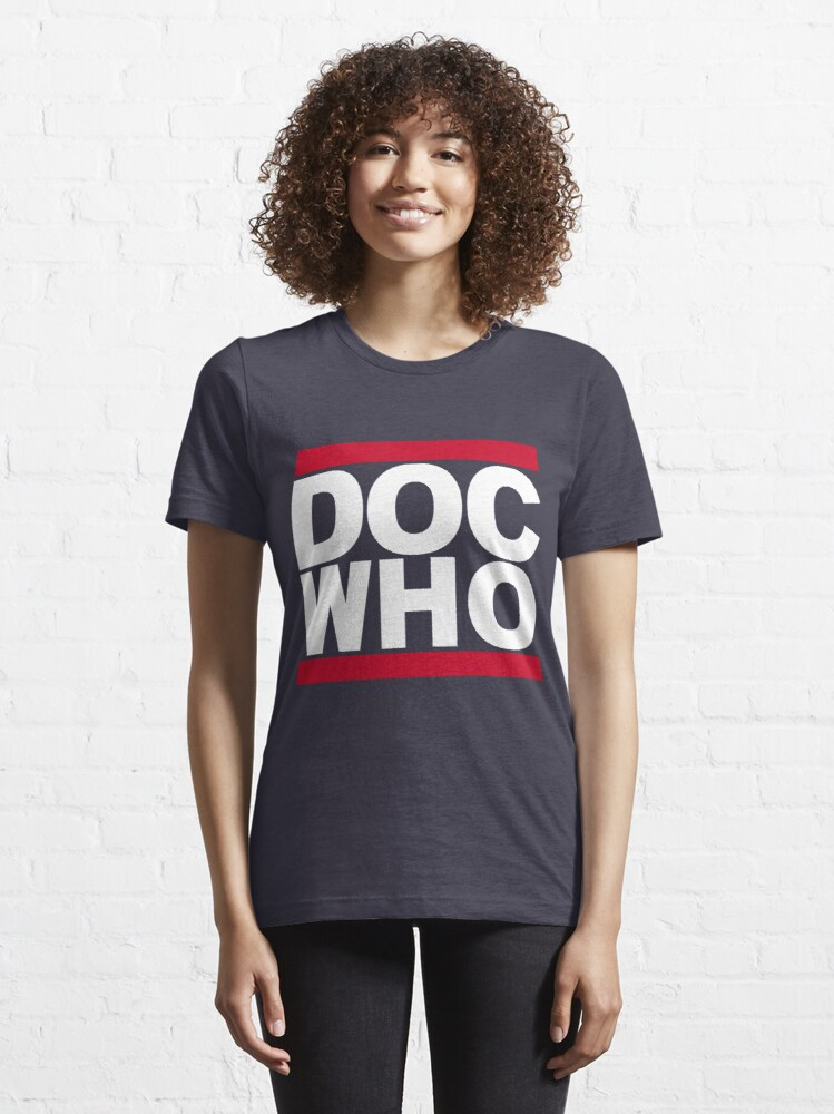 Alternate view of DOC WHO Essential T-Shirt