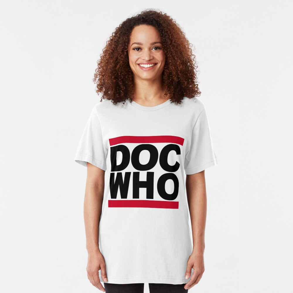 DOC WHO Slim Fit T-Shirt