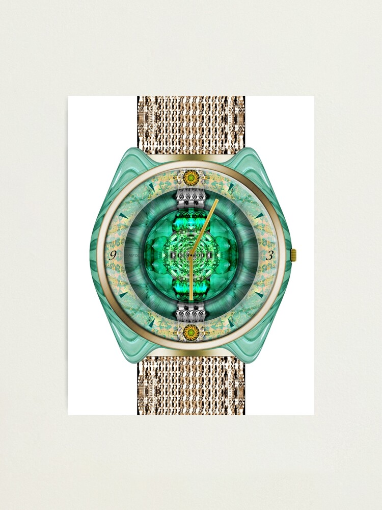 Alternate view of Glass Watch Photographic Print