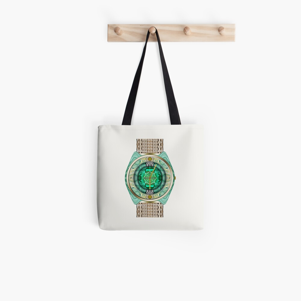Glass Watch Tote Bag