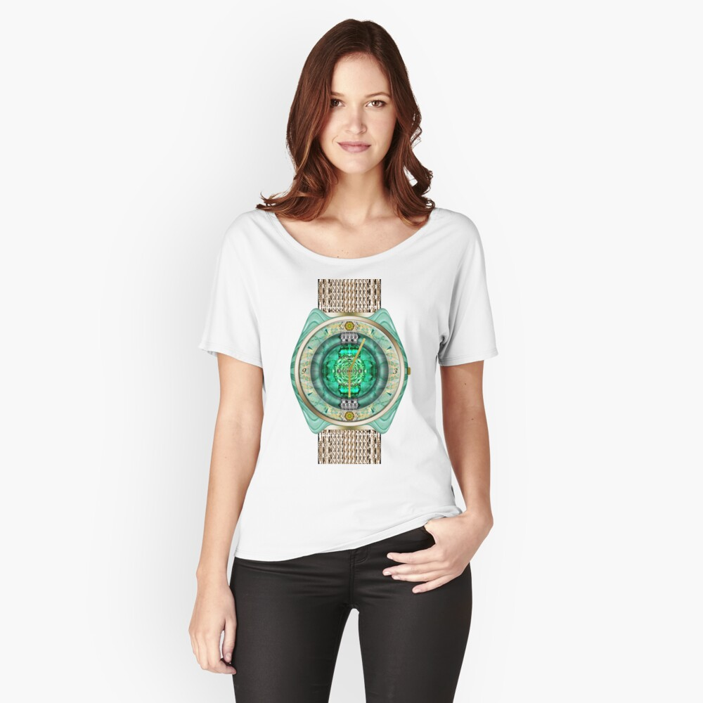 Glass Watch Relaxed Fit T-Shirt