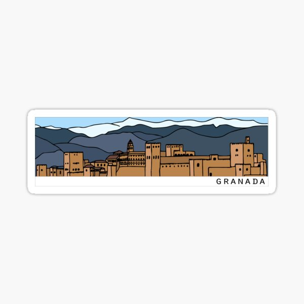 Granada sticker Sticker