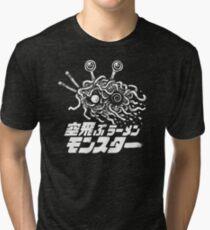 The Flying Ramen Monster Tri-blend T-Shirt